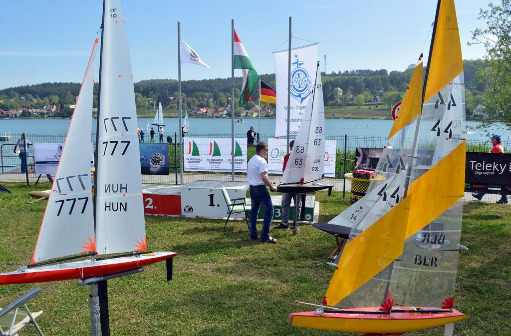 XIX. Naviga RC Sailing WC (2. nap)